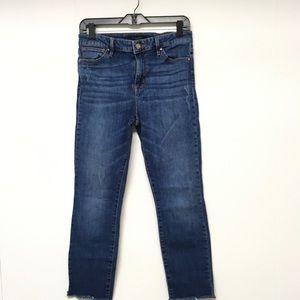 "Sanctuary Jeans 28 ""Kye"" Skinny Raw Hem High Rise"